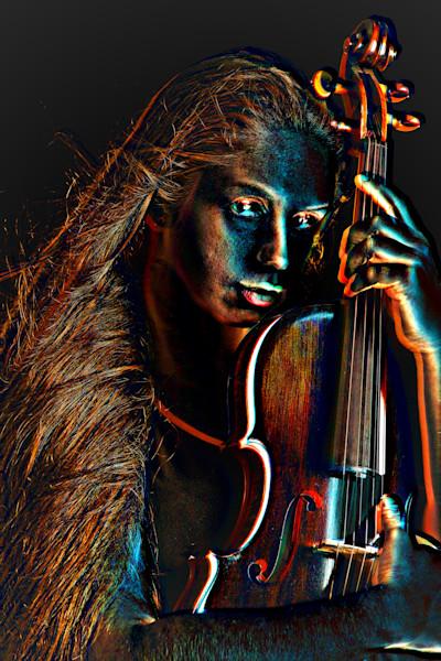 Loving the Violin Embossed 4019