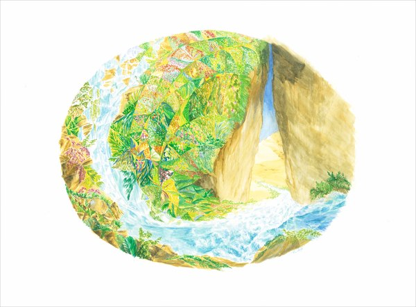 """""""River of Life"""" by Rosa Wain   Prophetics Gallery"""