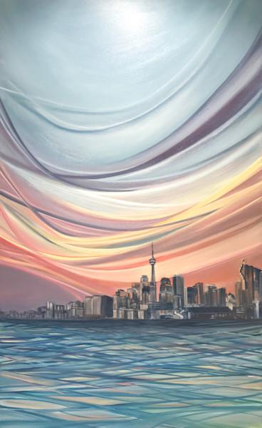 Polson Pier, Toronto by Kristyn Watterworth | SavvyArt Market original painting