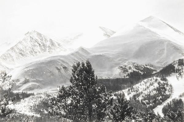 Breck, Peak 4 in February Charcoal