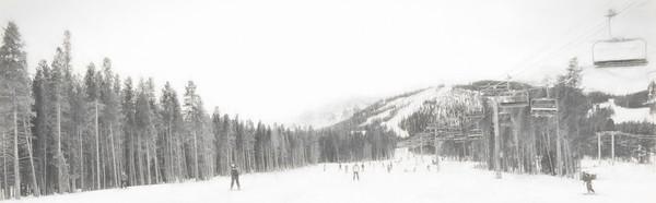 Breckenridge Landscape Ski Runs on the Mountain