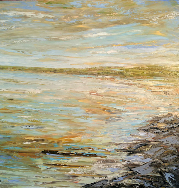 Tide's Out by Darlene Winfield | SavvyArt Market original painting