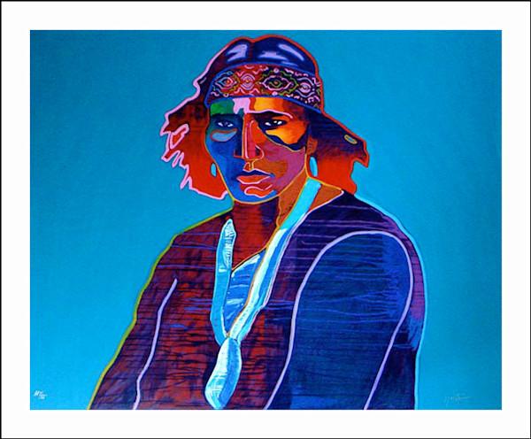 Navajo | John Nieto Art Limited Edition Serigraph