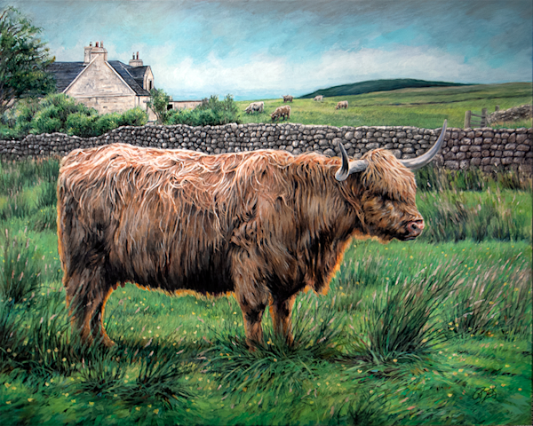 Màthair of Skye Original Painting.