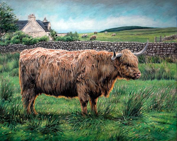 Màthair of Skye Original Painting.