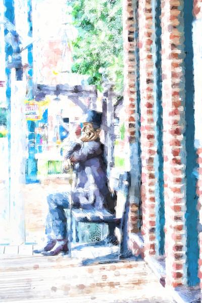 Grapevine  Man Statue