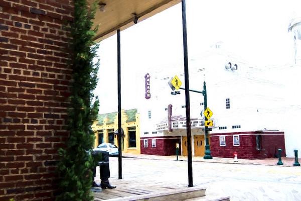 Photographs of Grapevine Texas Historic Main Street Palace Theater, Horizontal