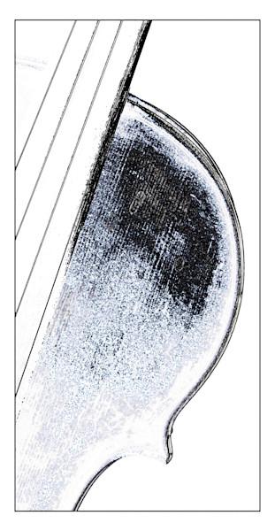 Art Print Violin Watercolor 6027