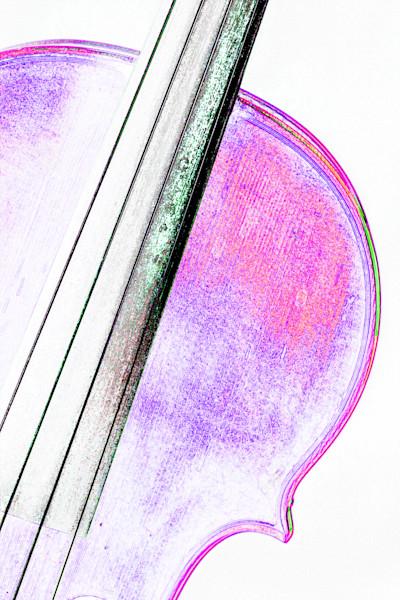 Art Music Violin Watercolor 6010