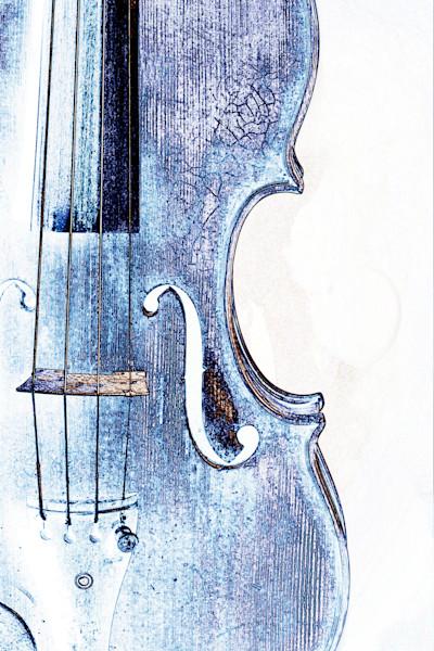 Violin Watercolor Art Prints 6030
