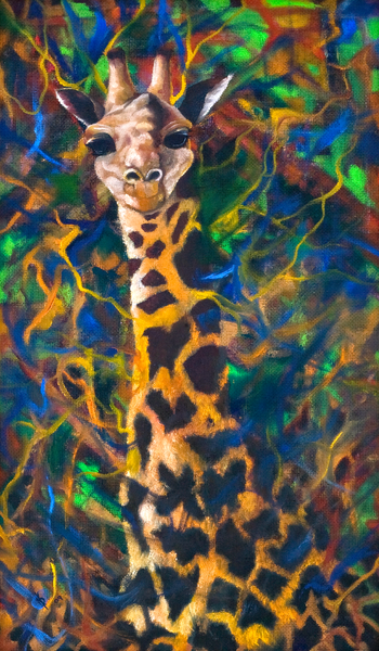 Giraffe Art | KD Neeley