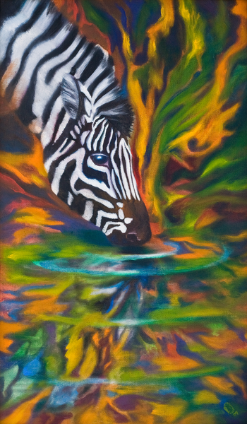 Zebra Art | KD Neeley