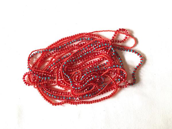Red Custom Love Beads