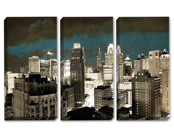 We Almost Lost Detroit Triptych