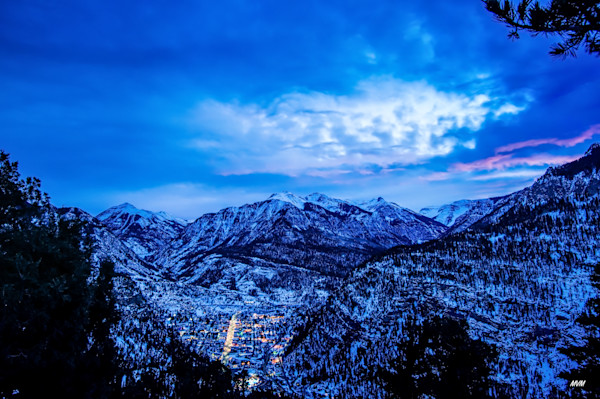 Markus Van Meter Photography | Blue Hour Over Ouray