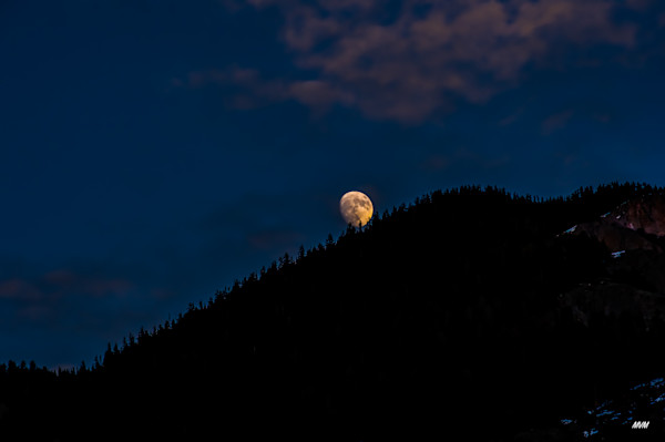 Markus Van Meter Photography | Moon Rise