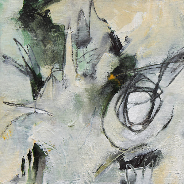 """Abstract Painting """"Eternal Sunshine"""" by Canadian artist Marianne Morris"""