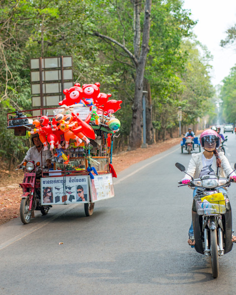 Cambodia Commuters