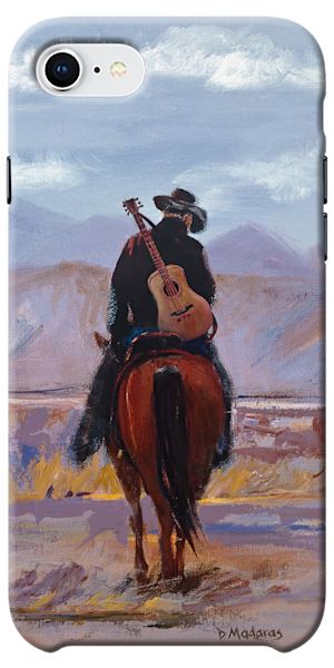 Phone Case | Southwest Art Gallery Tucson | Cowboy Guitar