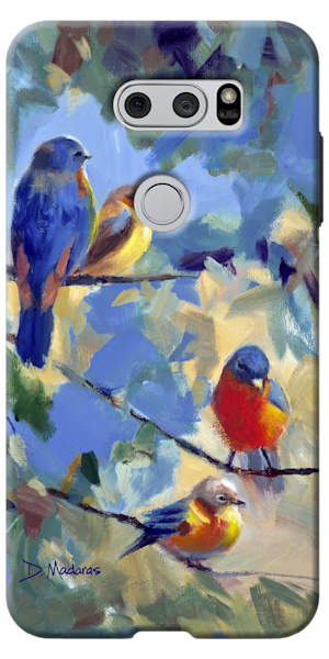Phone Case | Southwest Art Gallery Tucson | Five Birds