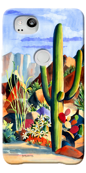 Phone Case | Southwest Art Gallery Tucson | One Purple Rock
