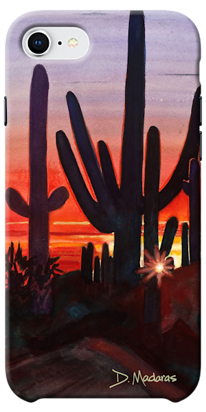 Phone Case | Southwest Art Gallery Tucson | Sunset at Dove