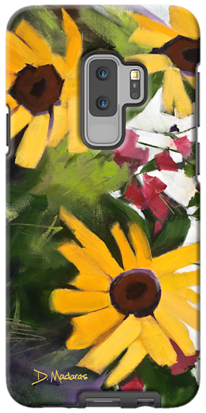 Phone Case | Southwest Art Gallery Tucson | Three Sunflowers