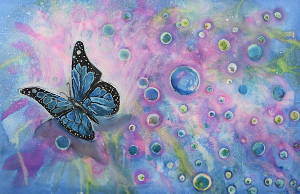 """Butterfly Bubbles"" by Christy Clugston 