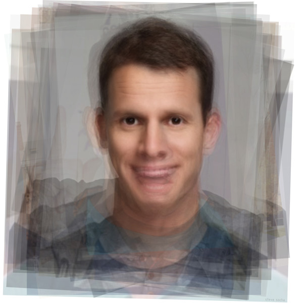 Portrait art prints of Daniel Tosh from Tosh.0