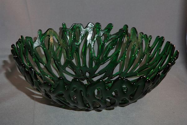 0047 Green Coral Bowl