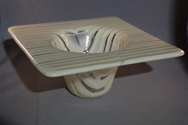 French Vanilla Segmented Vase