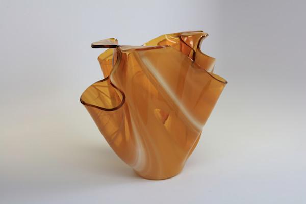 0014 Amber Vase