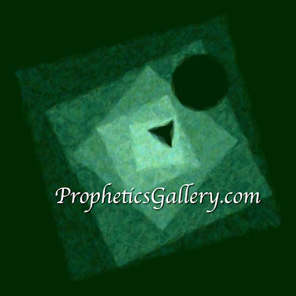 """Logos"" by David Wojkowicz   Prophetics Gallery"