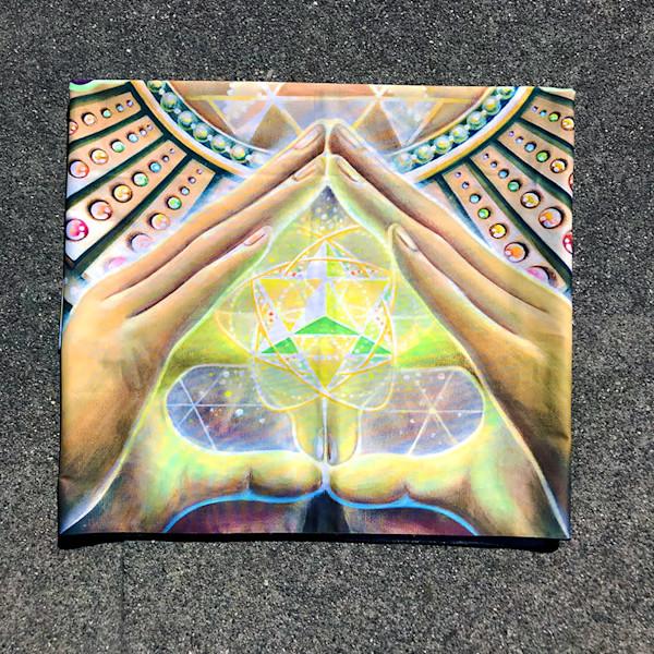She Hath Ore - Visionary Art Tapestry by Ishka Lha