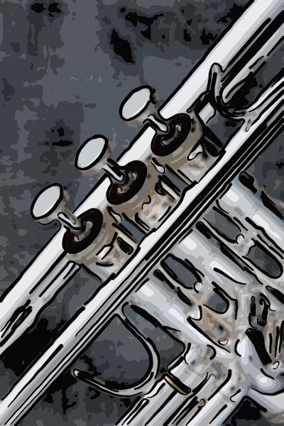 Trumpet Painting Prints Fine Art