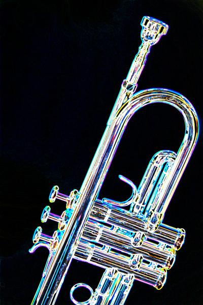 Trumpet Drawing 2505.24