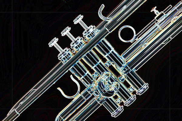 Symphonic Trumpet Drawing 2505.20