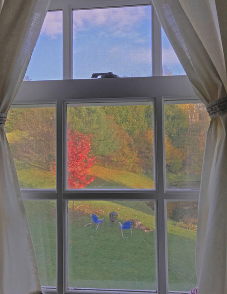 Autumn Window View|Fine Art Photography by Todd Breitling|Landscape Photography|Todd Breitling Art|