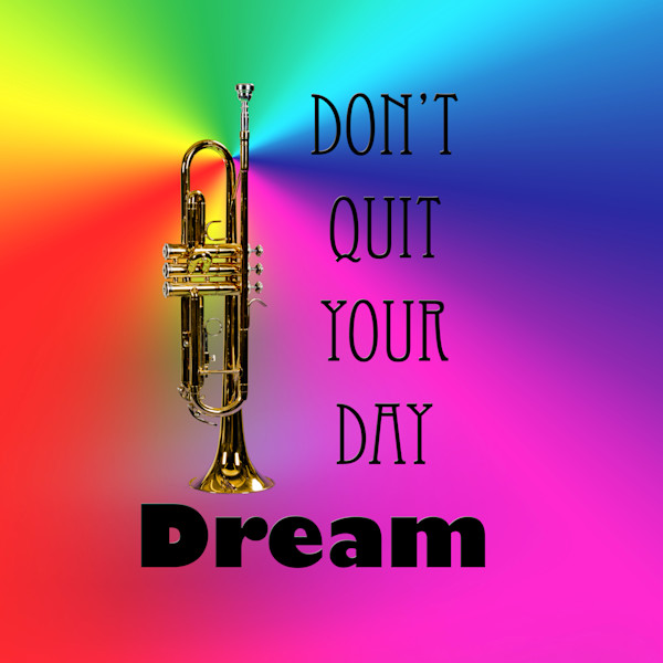 Day Dreams Trumpet Poster 2507.47