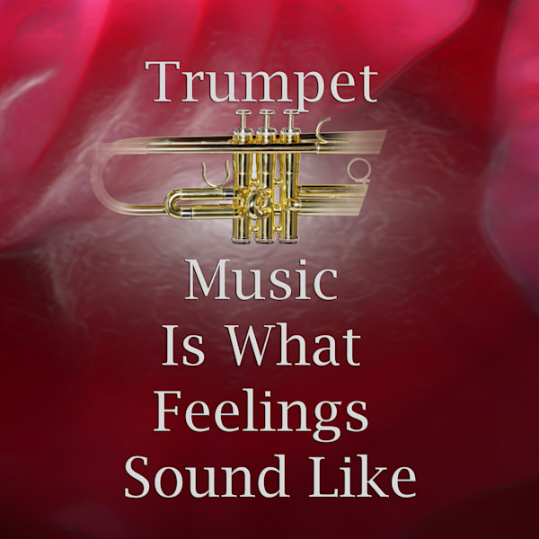 Feelings Sound Like Trumpet Poster 2507.49