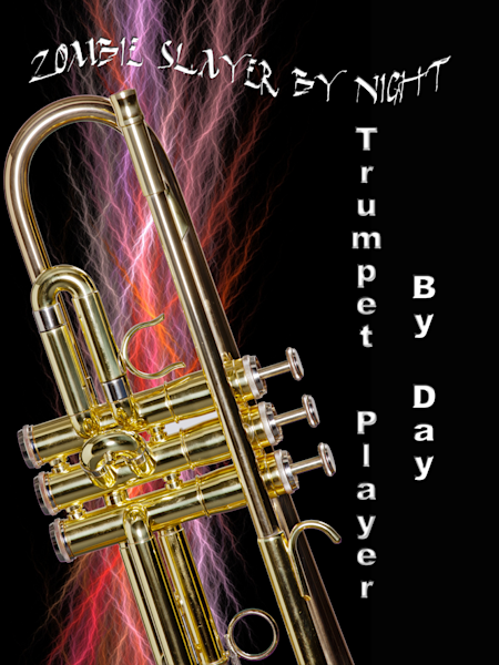 Zomby Player Trumpet Poster 2507.56