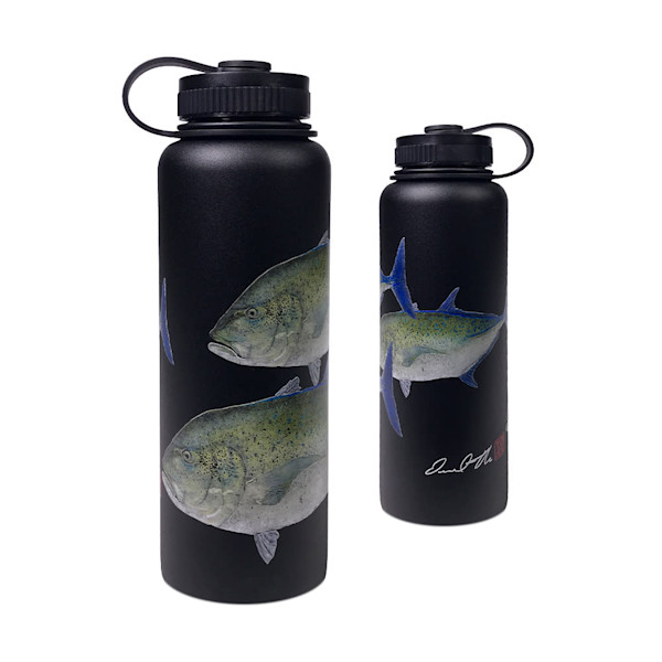 Bully On The Reef Flask