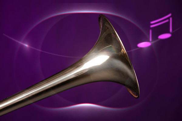 Trombone Bell and Music 2601.08
