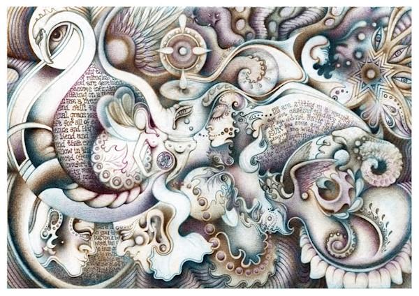 Hafiz Dream - Greeting Card