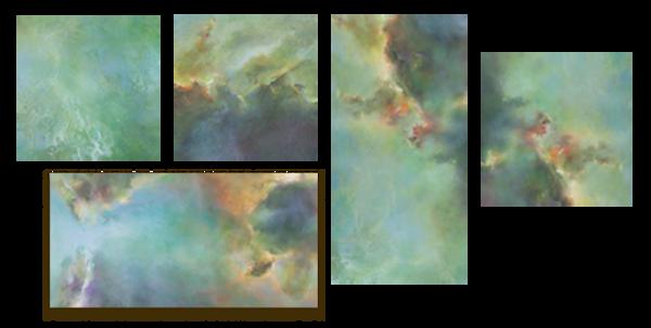 Abyss Blocks: Art Wall Panels