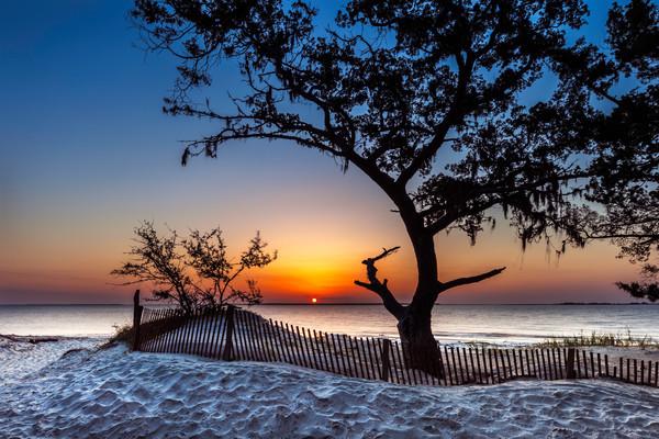 Jekyll Island Sunset 2