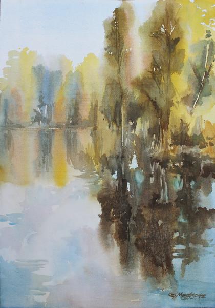 Beluthahatchee | Watercolor Landscapes | Gordon Meggison IV