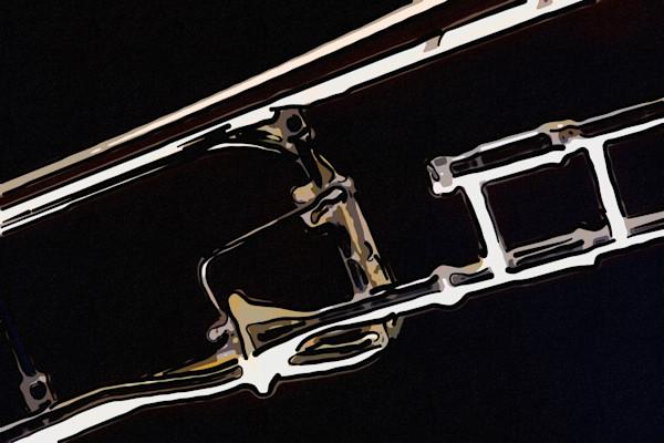 Music Art Rotor Trombone Painting 2603.05