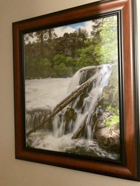 Dillon Falls Framed