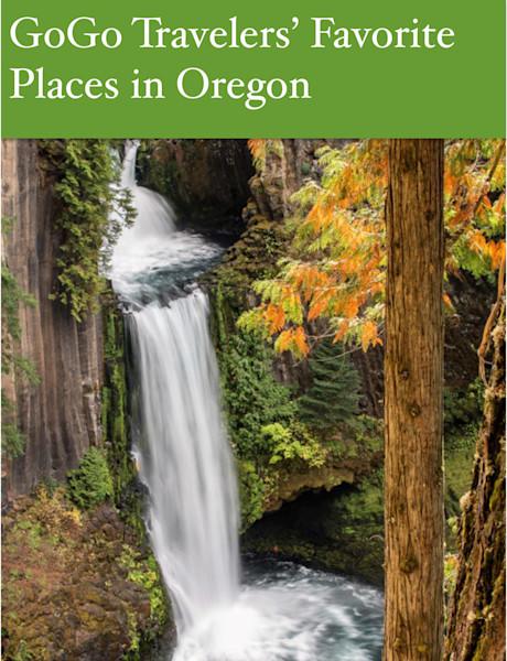 GoGo Travelers' Favorite Places in Oregon e-book